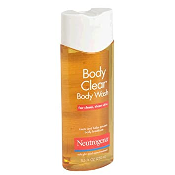 Neutrogena Body Clear Body Wash for Clean, Clear Skin, 8.5 Ounce Pack of 3