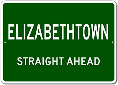 The Lizton Sign Shop Elizabethtown, Kentucky Straight Ahead Custom Novelty Aluminum Sign