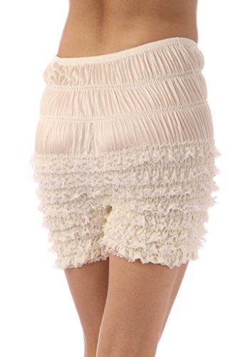 Malco Modes Womens Ruffle Panties Bloomers Dance Bloomers