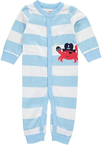 Carters Baby Boys Cotton Footless Sleep /& Play