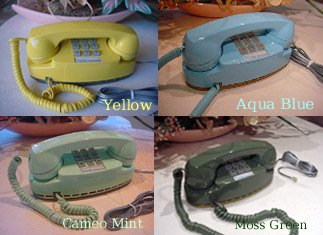 The Princess Telephone with Touchtone Dial Select Color: Aqua Blue on
