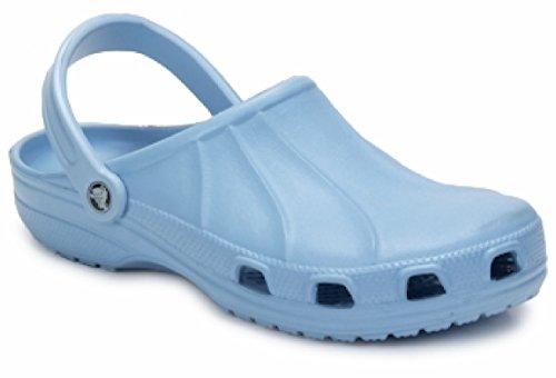 Crocs Professional Light Blue Unisex Clog M8W10 41-42 EUR