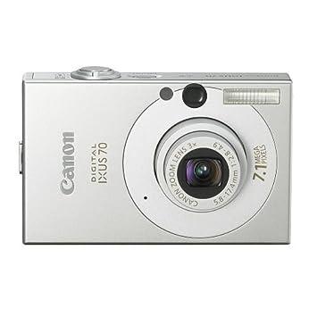 Canon Ixus 70 Digital Camera Silver 7 1mp 3x Optical Zoom 2 5 Lcd