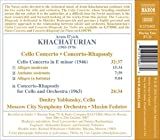 Image of Khachaturian: Cello Concerto / Concerto-Rhapsody