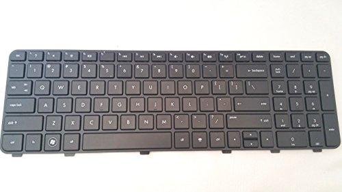P&U New Black Matte keyboard with Frame for HP Pavilion DV6-6B19WM DV6-6B21HE DV6-6B22HE DV6-6B26US DV6-6B27NR DV6-6B47DX DV6-6B48NR DV6-6B51NR DV6-6C10US DV6-6C11NR DV6-6C12NR DV6-6C13CL DV6-6C13NR DV6-6C14NR DV6-6C15NR DV6-6C16NR DV6-6C18NR DV6-6C23NR DV6-6C29WM DV6-6C35DX DV6-6C40US DV6-6C43CL DV6-6C43NR DV6-6C47CL DV6-6C48US DV6-6C50US DV6-6C53CL DV6-6C53NR DV6-6C54NR DV6-6C57NR DV6-6C61NR Laptop / Notebook US Layout (New Hp Dv6)