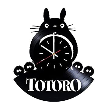 My Neighbor Totoro Studio Ghibli Vinyl Clock