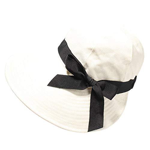 Arco Al Algodón 56 Summer Ladies Sun Blanco Aire color Hhgold Decoración Del Libre Lino Tamaño Y Transpirable Plegable Hat Beige 3pcs M qgPwyxFtz