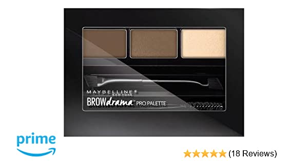 c44a9a4bb73 Amazon.com : Maybelline Brow Drama Pro Palette 2 Pack (Soft Brown) : Beauty