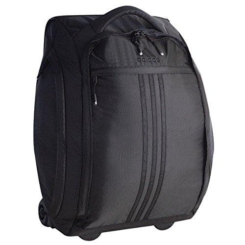 adidas Duel 21-Inch Wheel Bag, Black, One Size by adidas
