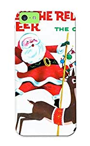 (2432fa34620)durable Protection Case Cover With Design For Iphone 5c(holiday Christmas Poster) by kobestar