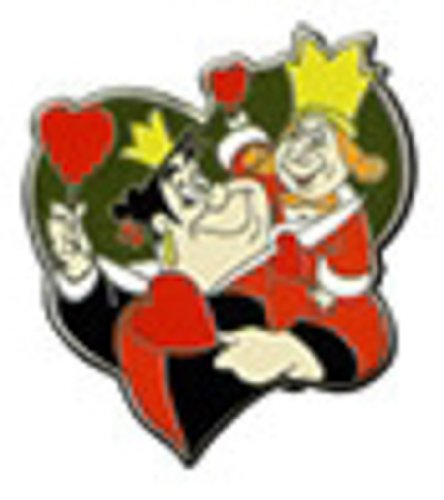Disney Pin 95871: Disney Couples - Mystery Pack - King and Queen of Hearts Alice in Wonderland