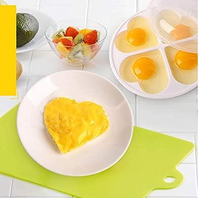 Compra Vaporizador de Huevos por microondas para hasta 4 Huevos ...