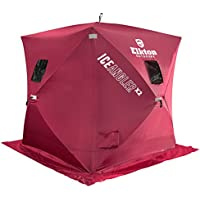 Elkton Portable Pop-up 3 Person Ice Shelter Fishing Tent / Shelter / Shanty / Hut / House
