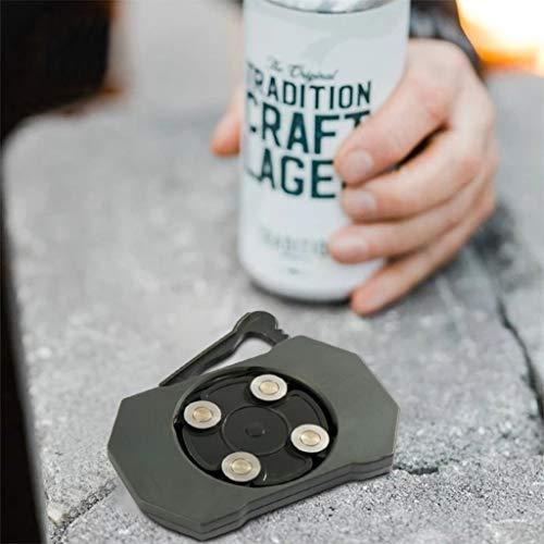 MiMiey Go Swing Topless Dosenöffner Bar Tool, Safety Easy Manual Dosenöffner, für die Handbuch Dosenöffner Professionelle Mühelose Öffner Haushaltsküchenwerkzeug (Grau)