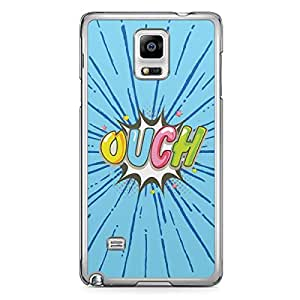 Ouch Samsung Note 4 Transparent Edge Case - Comic Collection