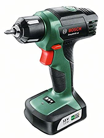 Bosch EasyDrill 12 Cordless Drill/Driver with Integrated 12 V Lithium-Ion Battery and Carton 06039B3071