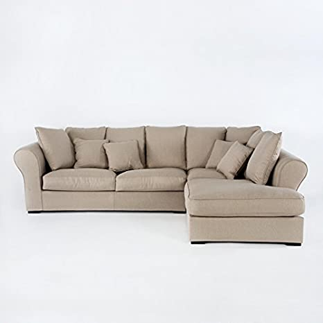 Tn Sofa con rinconera 312x212x92: Amazon.es: Hogar