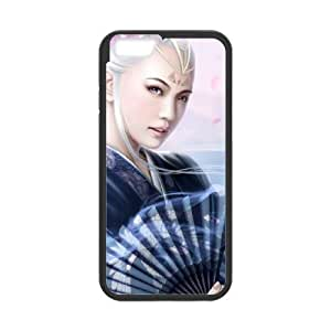 asian girl 4 iPhone 6 Plus 5.5 Inch Cell Phone Case Black 53Go-177807