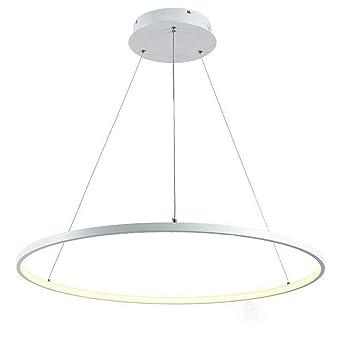 50W LED Suspension Design Rond Ring Suspendu Lumière Blanche En ...