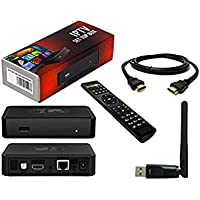 MAG254 IPTV Full HD 3D Media Streamer STB - WiFi & HDMI Bundle Pack