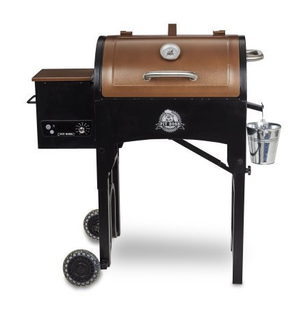 Pit Boss Portable Tailgate/Camp With Foldable Legs Pellet Grill, Tan...