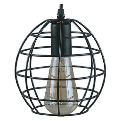 Lámpara colgante decorativa, ø180x160mm, estructura exterior de ...