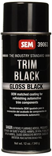 SEM 39063 Gloss Trim Black Aerosol - 12 oz.