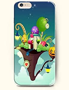 SevenArc Apple iPhone 6 Plus case 5.5 inches - All Hallows' Eve Halloween Party In Witch'S Hat