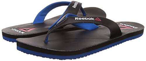 a676472a90210a Reebok Men s Advent Black and Blue Sport Flip-Flops and House Slippers   Amazon.co.uk  Shoes   Bags