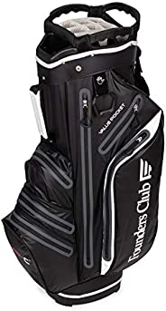 Founders Club Waterproof Golf Cart Bag Ultra Dry for Rainy Days on The Golf Course Light Weight 14 Way Full Le