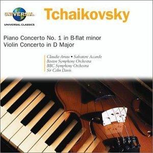 Tchaikovsky: Piano Concerto No. 1 in B-flat minor / Violin Concerto in D Major