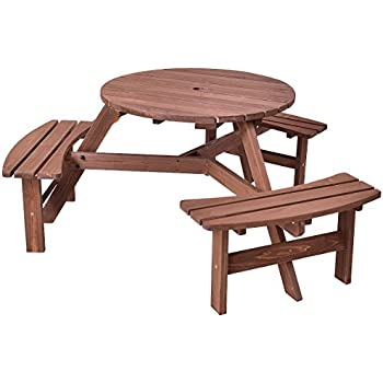 Amazon Com Merry Garden Interchangeable Wooden Picnic