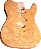 TELE® BODY UNFINISHED FLAME/ALDER - REAR CONTROL