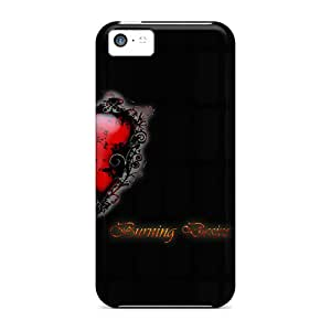 New Fashionable Case888cover Csz12911jrrv Covers Cases Specially Made For Iphone 5c(burning Desire)