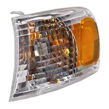 HEADLIGHTSDEPOT Compatible with Toyota Corolla Signal Light OE Style Replacement Driver Side New