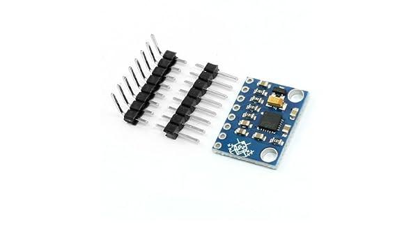 Amazon.com: eDealMax GY-521 MPU6050 chip de aceleración de 3 ejes giroscopio 6DOF Módulo Azul: Musical Instruments