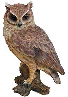 Eye Catching free flying stately Owl decorative ornament