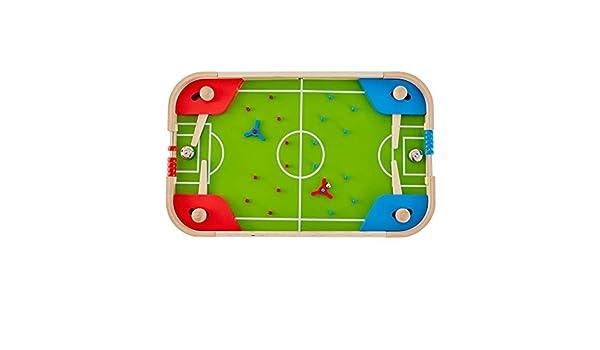Máquina de Pinball de Mesa para niños de fútbol de Mesa, Juego de ...