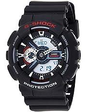 GSHOCK Men's Automatic Wrist Watch analog-digital Display and Resin Strap, GA110-1A