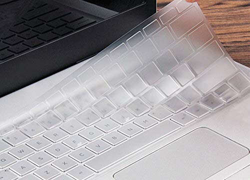 Ultra Thin Clear Keyboard Cover Skin Compatible with 12.3 Google Pixelbook with Touch-Screen (2017 Release) (Transparent)