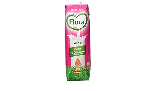 Flora Leche Corazón con Aceites Vegetales 0.3% - Paquete de 4 x 1000 ml - Total: 4000 ml: Amazon.es: Amazon Pantry