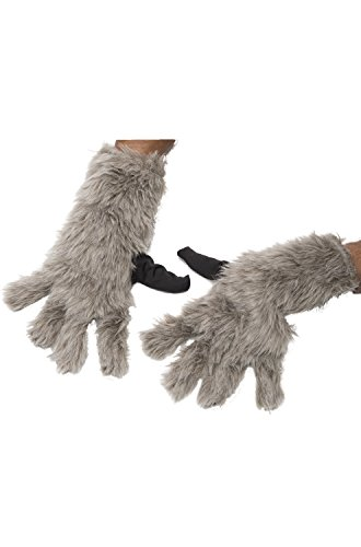 Rubie's Costume Men's Guardians of The Galaxy Rocket Raccoon Costume, Multicolor, Gloves -