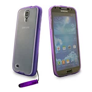 Quaroth Shelfone Touchable Stylish Full Body Clear Touch Case Cover Holder For Samsung Galaxy S4 i9500 S IV Front AND...