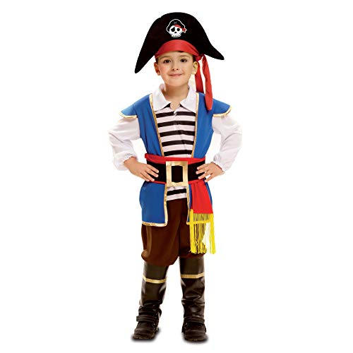 Boys Pirate Costume Halloween Kids Deluxe Costume Set - Chief-M]()
