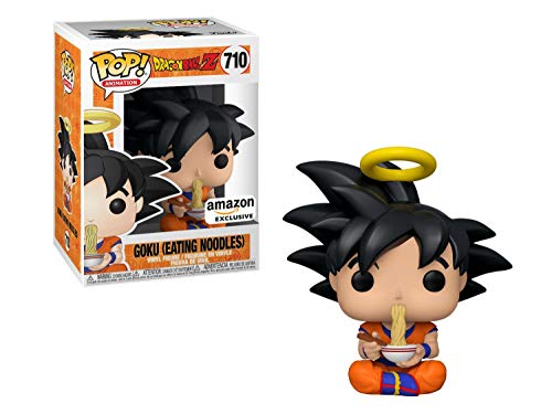 Funko Pop!: Dragonball-Z - Goku Eating Noodles, Amazon Exclusive