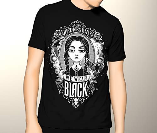 Wednesday Adams Gothic Adams Family Shirt Premium Graphic T-Shirt ()