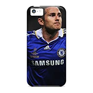 Best Hard Phone Cases For Apple Iphone 5c With Unique Design Attractive Soccer Chelsea Fc Frank Lampard Image AshleySimms