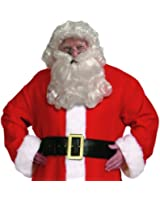 Santa Claus Wig & Beard Set (Curly) Adult Costume Accessory