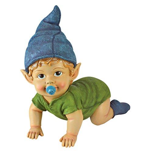Garden Gnome Statue - Blaze the Baby Gnome - Lawn Gnome