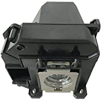 Litance Projector Lamp Replacement for Epson ELPLP60/V13H010L60, PowerLite 420, PowerLite 425W, PowerLite 905, PowerLite 92, PowerLite 93, PowerLite 93+, PowerLite 95, PowerLite 96W and More